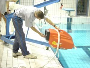 Nettoyage d'une piscine