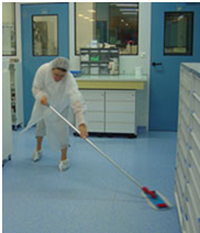 Nettoyage salle blanche