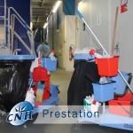 prestation d'entretien tertiaire, industrielre