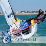 CNH sponsor voile championnat de France