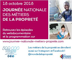 1ERE JOURNÉE NATIONALE DES MÉTIERS de la PROPRETÉ