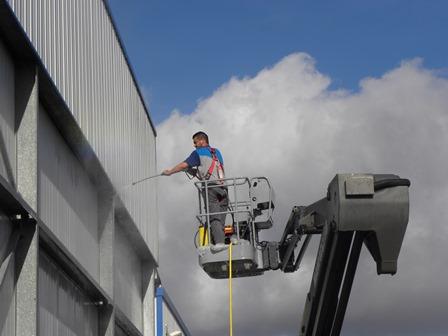CNH nettoyage de bardage