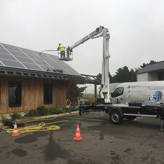 CNH remise en état panneaux photovoltaïques